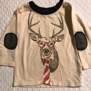 Christmas/Holiday Reindeer Shirt. Size 12-18 Month